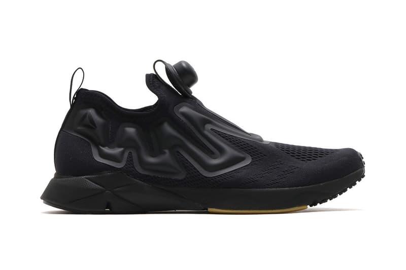 Reebok Pump Supreme Black White Sneaker Streetwear