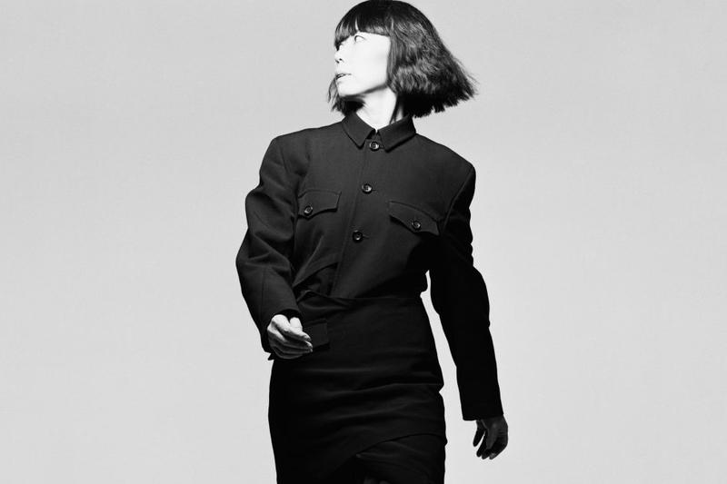 Rei Kawakubo Portrait Black/White