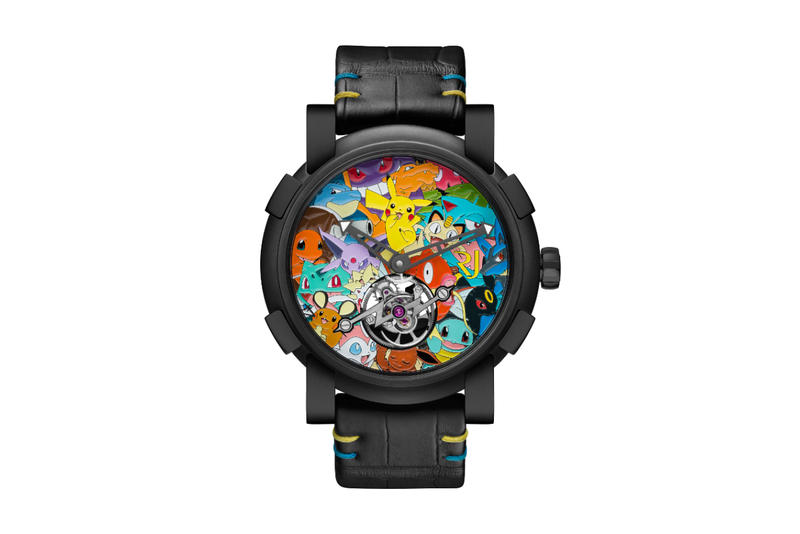 RJ Romain Jerome Tourbillon Pokemon Watch
