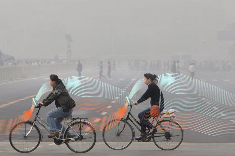 Smog Free Bike China Beijing Dan Roosegaarde Smog Free Project Dutch Smog Free Tower Clean Air