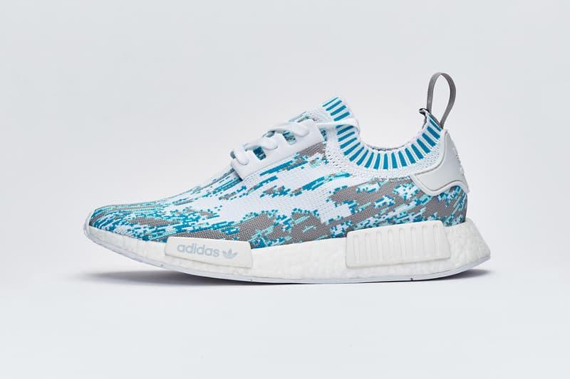 Sneakersnstuff adidas NMD R1 Primeknit Datamosh Pack