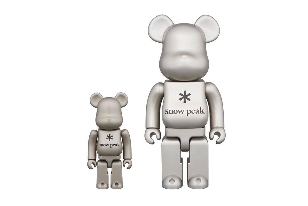 Snow Peak x Medicom Toy 2017 Collection Bearbricks Camping