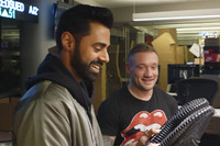 Hasan Minhaj of 'The Daily Show' Catches Fake Pirate Black YEEZYs