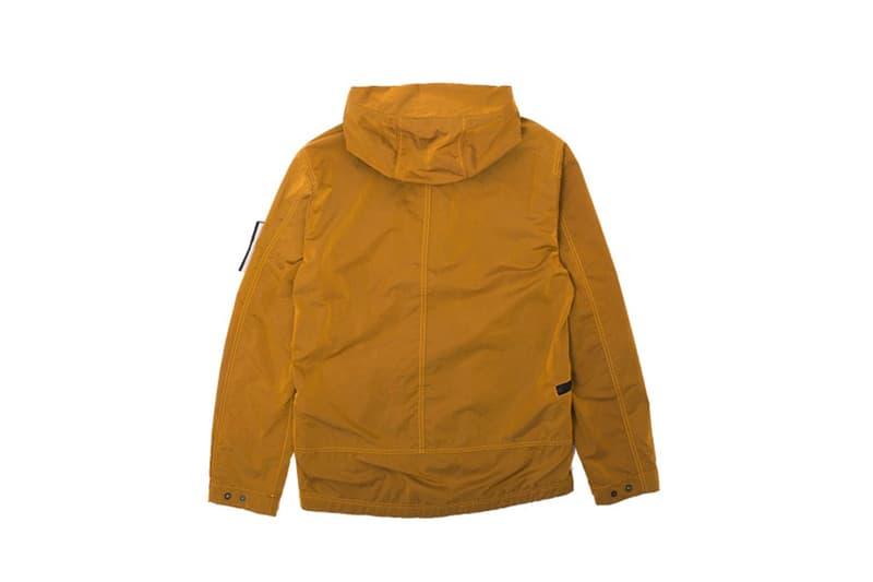 Stone Island Waterproof Nylon Metal Flock Jacket