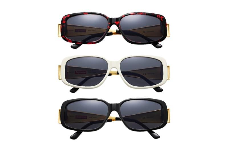 89eefb57172 Supreme 2017 Spring Royce Sunglasses Black White Tortoise