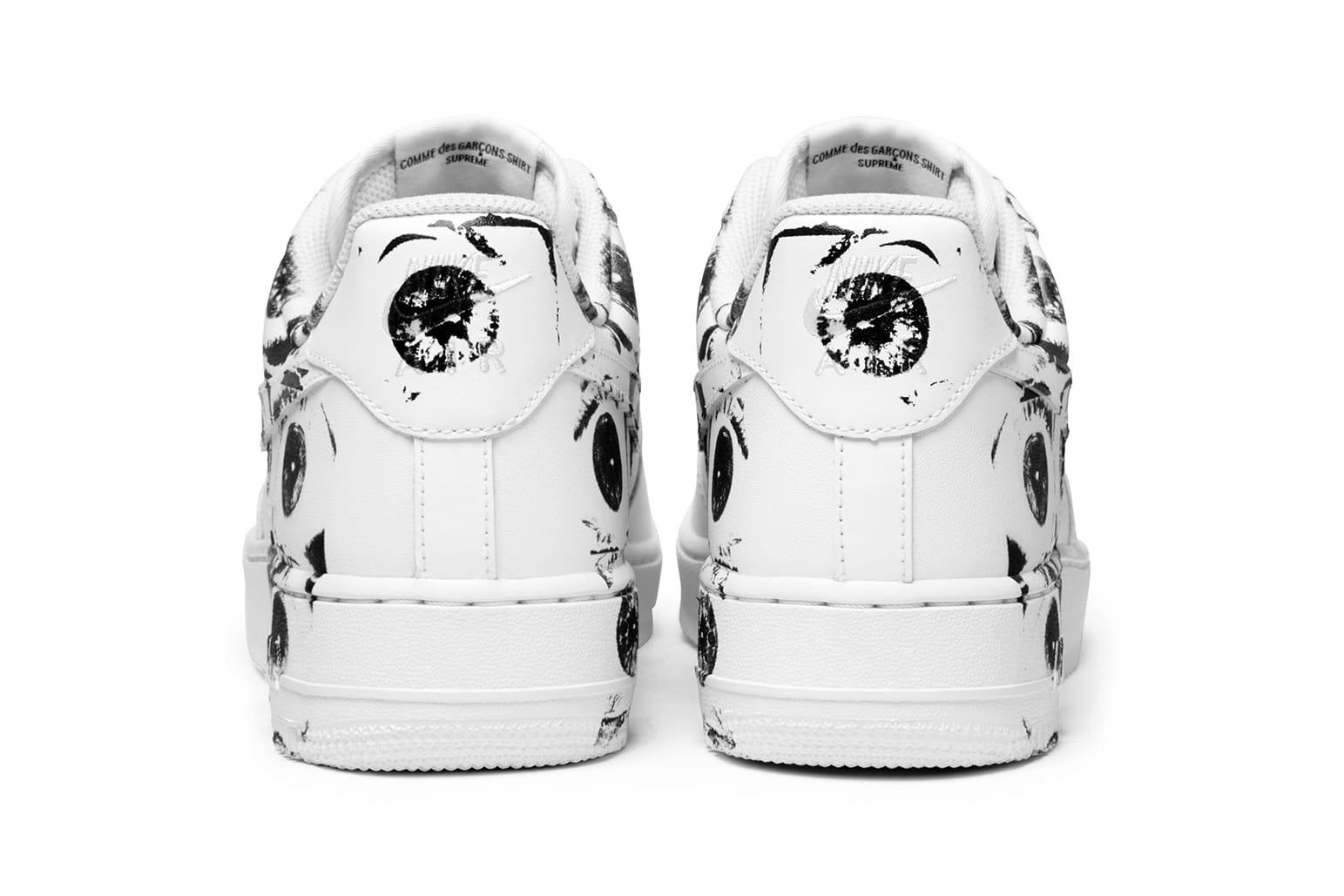 Supreme x COMME des GARÇONS x Nike Air