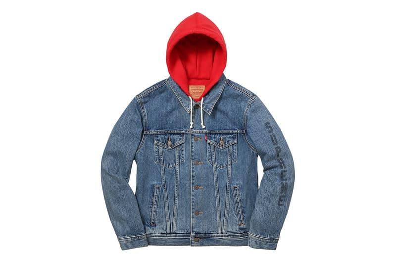 Supreme x Levi's 2017 Jacket Red