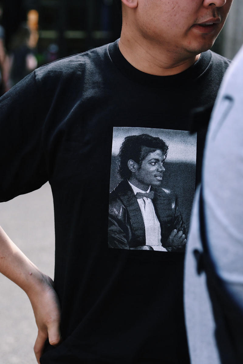 Supreme Michael Jackson London Streetsnaps 2017 Spring Summer Highlights