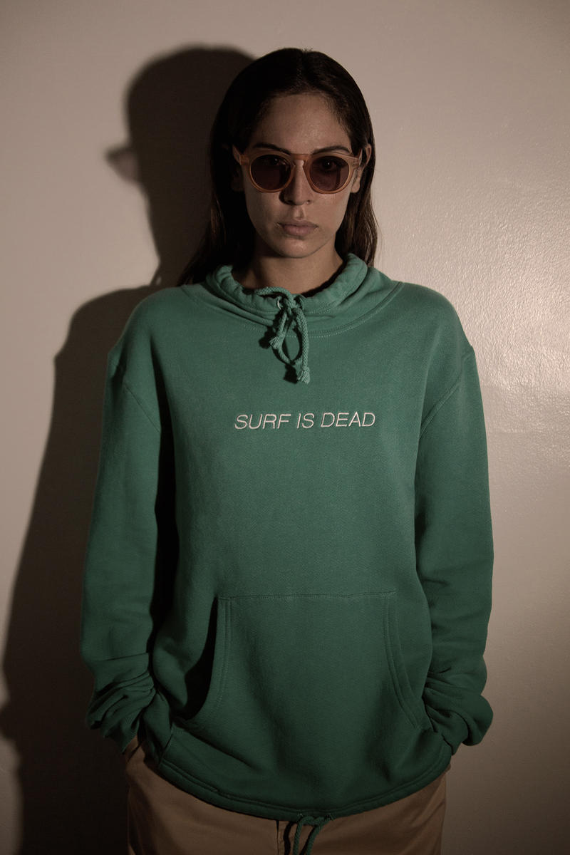 "SURF IS DEAD ""Stranger Waves"" 2017 Spring/Summer Collection Lookbook Graphic T-shirts"