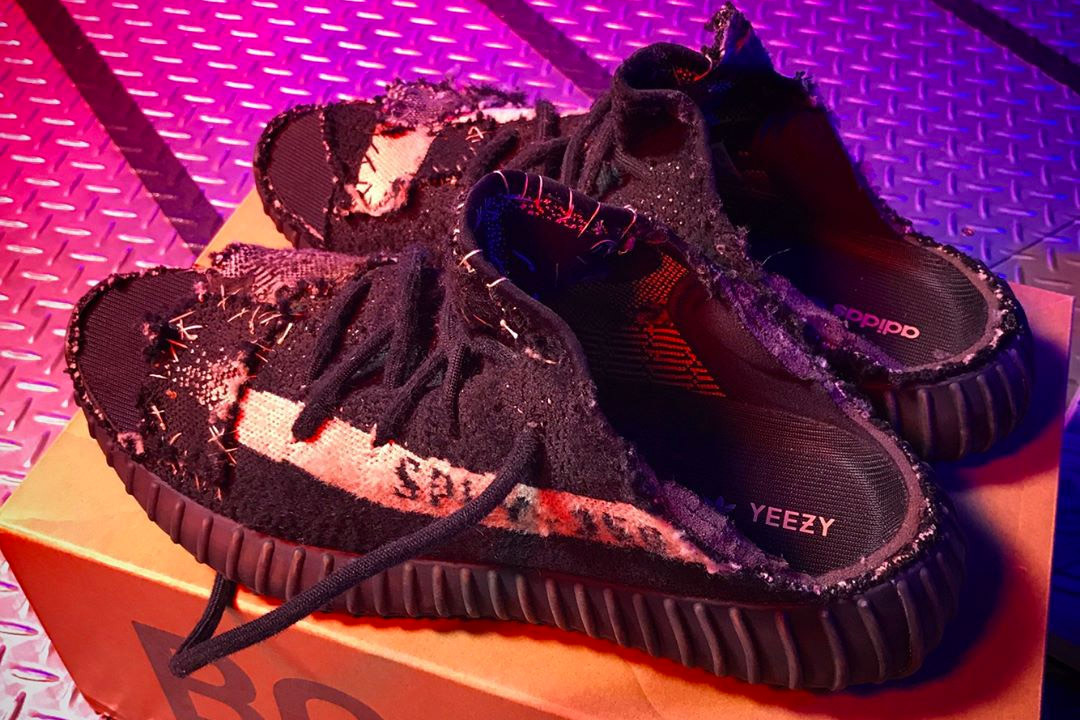 Custom YEEZY BOOST 350 V2 Sandals
