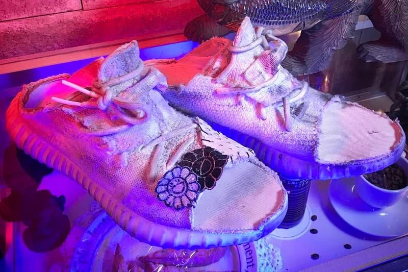 bab064017c1 Takashi Murakami YEEZY BOOST 350 V2 Sandals Kanye West