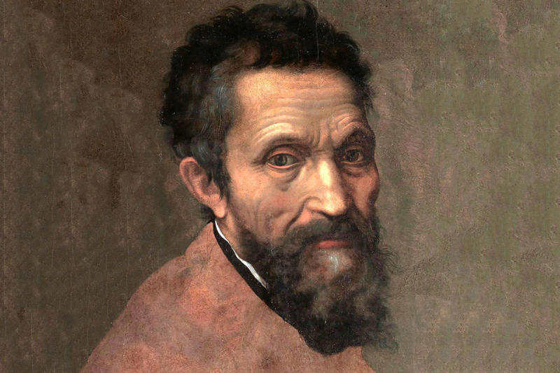 Portrait of Michelangelo by Daniele da Volterra