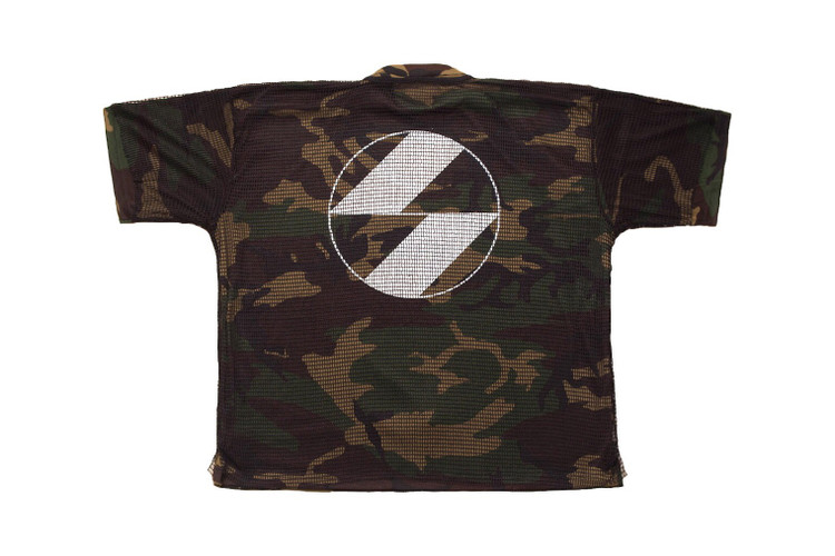 d1d2fdebd4d3 The Salvages Channels '80s Post-Punk Style With Its Latest Oversized  Military Shirt