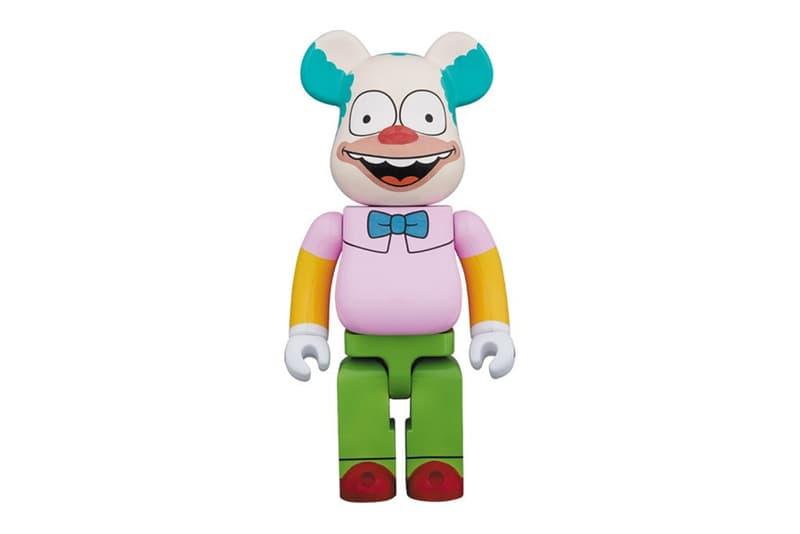 krusty the clown the simpsons bearbrick