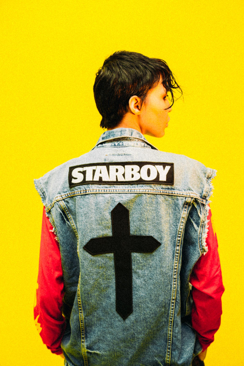 The Weeknd 'Starboy' 2017 Pop-Up Shop Collection Lookbooks XO Tour Merch
