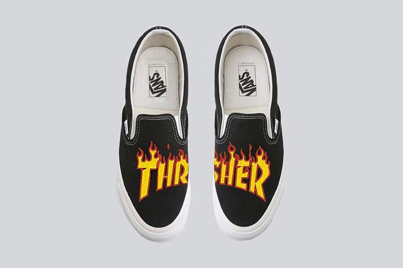 a2bb746d444 Thrasher x Vans Collaborative Sneakers