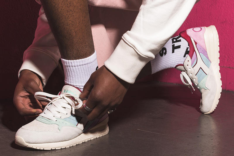 Titolo Diadora Intrepid Sneaker Footwear Shoes Collaboration Fashion