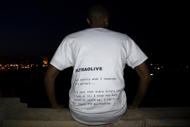 """ULTRAOLIVE """"Temporarily Satisfied"""" Collection Streetwear Fashion Apparel Clothing Accessories T-Shirts Bags Furniture"""