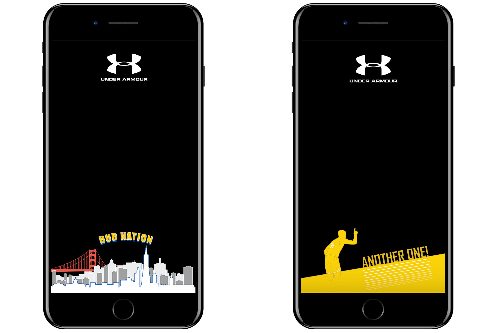 Under Armour Golden State Warriors Snapchat Filters 2017 CCA design students