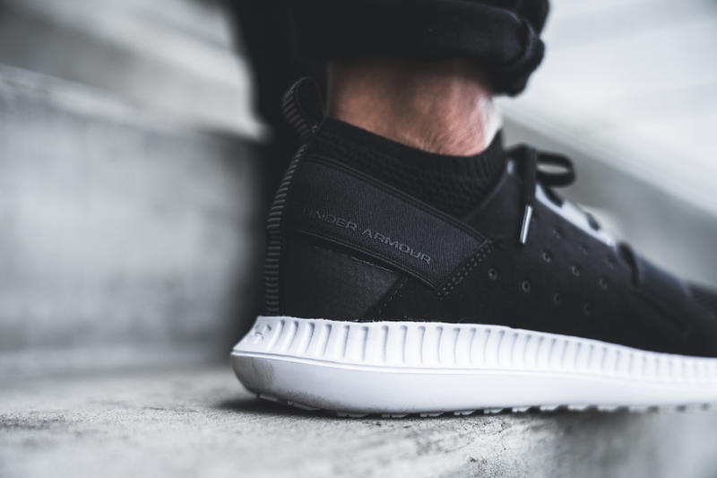Under Armour Threadborne Shift Sneaker black side view