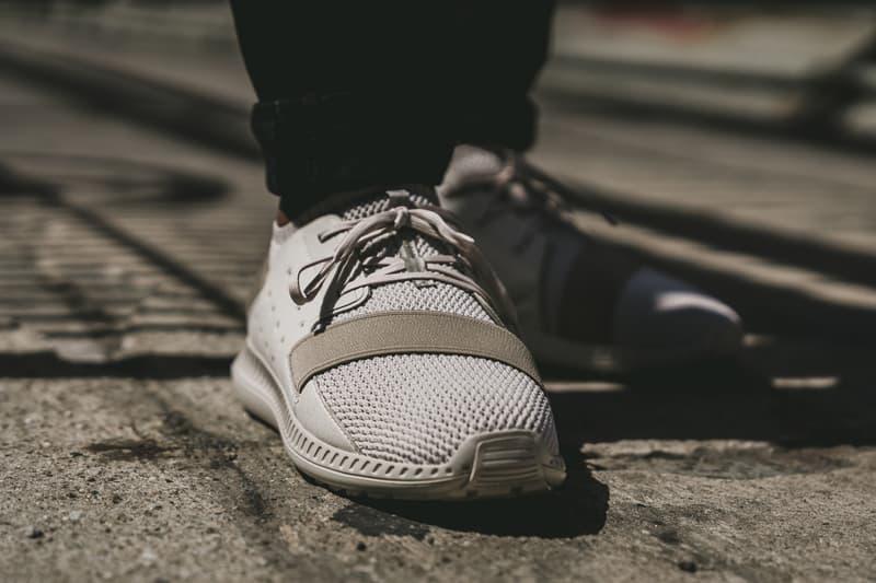 Under Armour Threadborne Shift Sneaker beige close up