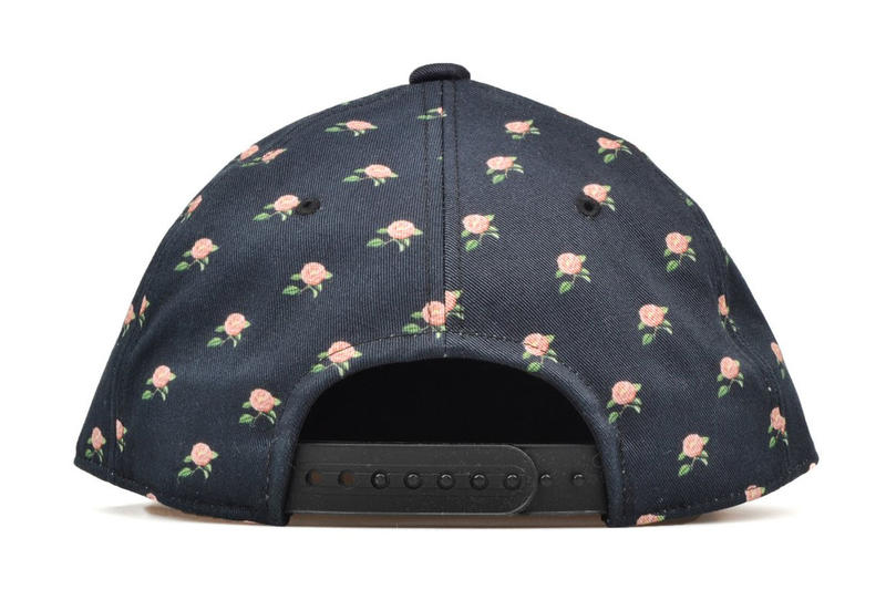 UNDERCOVER Floral Brain Damage Baseball Cap