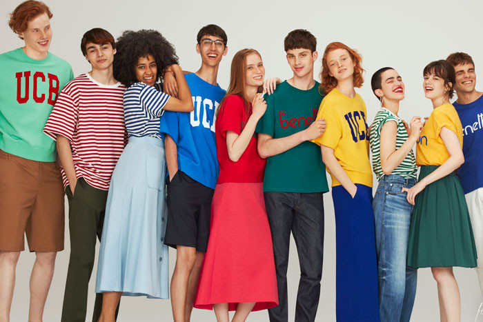 8e8b628079 United Colors of Benetton for ADAM ET ROPÉ Gets Nostalgically Vibrant With  New Capsule