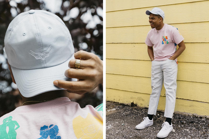 Taylor Bennett Urban Outfitters 2017 Pride Collection Lookbook