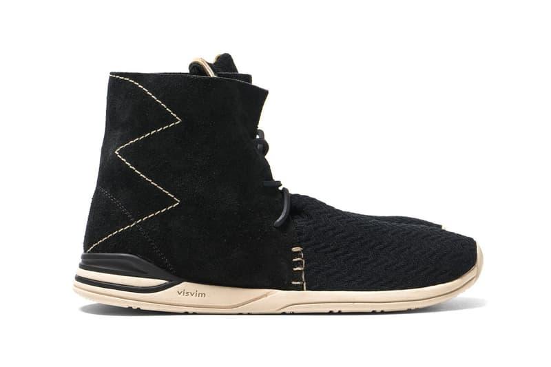 Visvim HURON MESH MOC-FOLK Hi Hiroki Nakamura Footwear Shoes Sneakers
