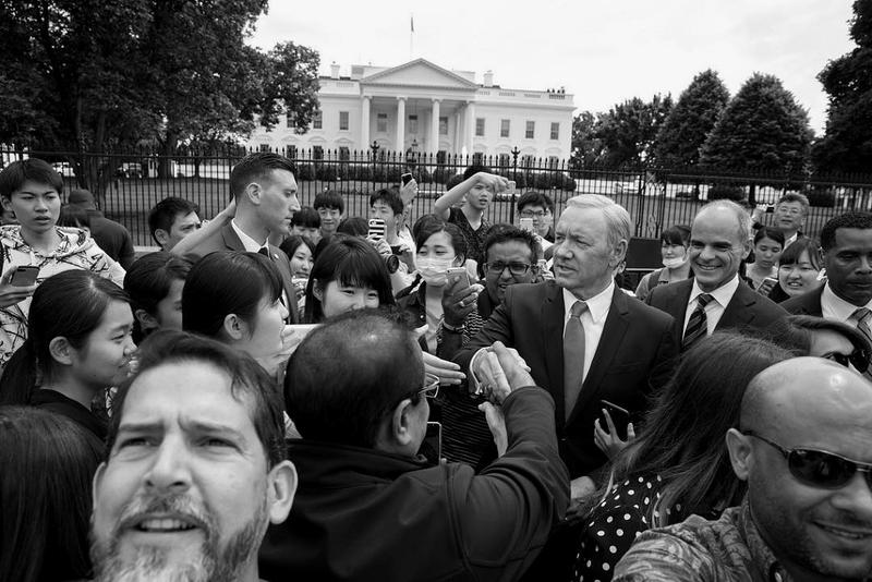 White House Photographer Pete Souza Frank Underwood House of Cards Photoshoot Kevin Spacey
