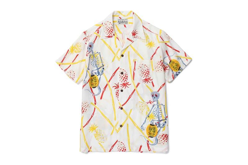 WOLF'S HEAD WACKO MARIA '50s Hawaiian Shirts
