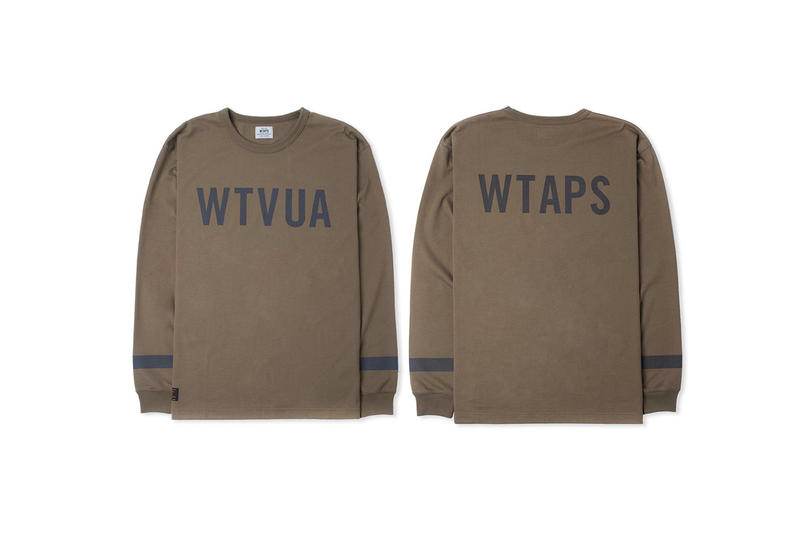 WTAPS Point Man 2017 Spring/Summer Collection Crewnecks