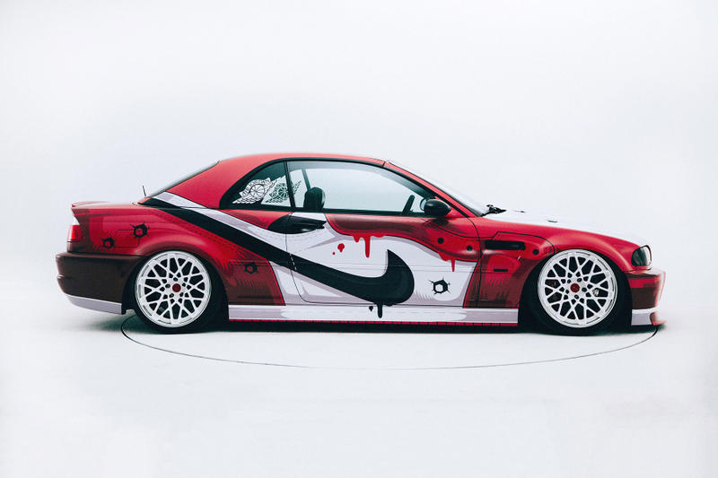 online store a8adb 5d1f8 400ML and iAcro Team up to Create a Custom Air Jordan-Themed BMW