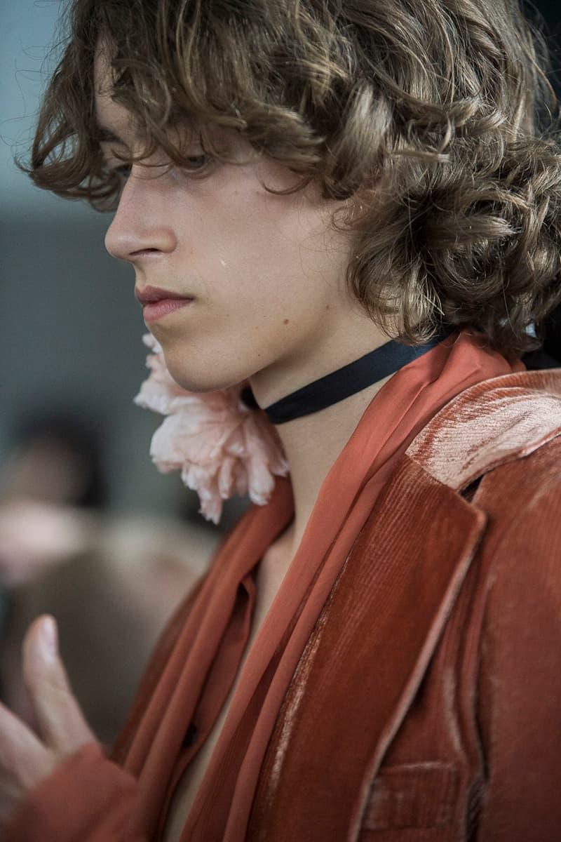 Ann Demeulemeester 2018 Spring/Summer Backstage Paris Fashion Week