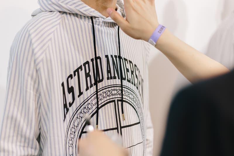 Astrid Andersen Spring/Summer 2018 Backstage