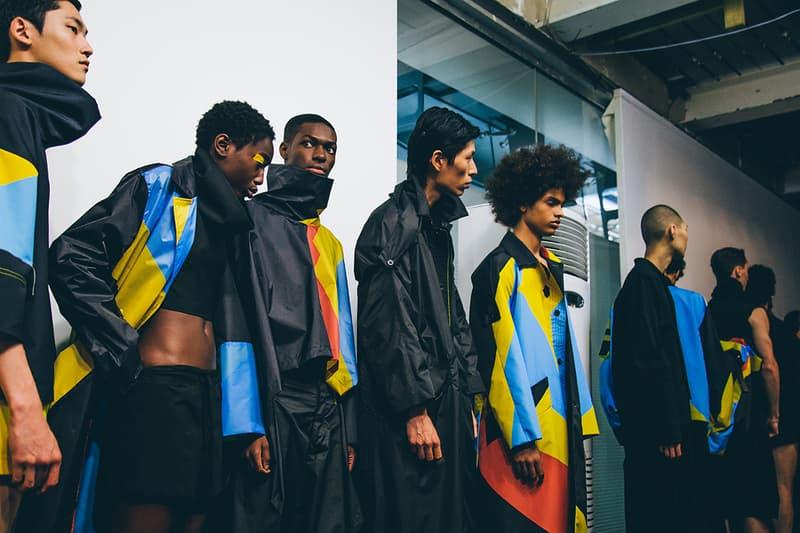 Berthold 2018 Spring/Summer Collection Runway Show London Fashion Week Men's