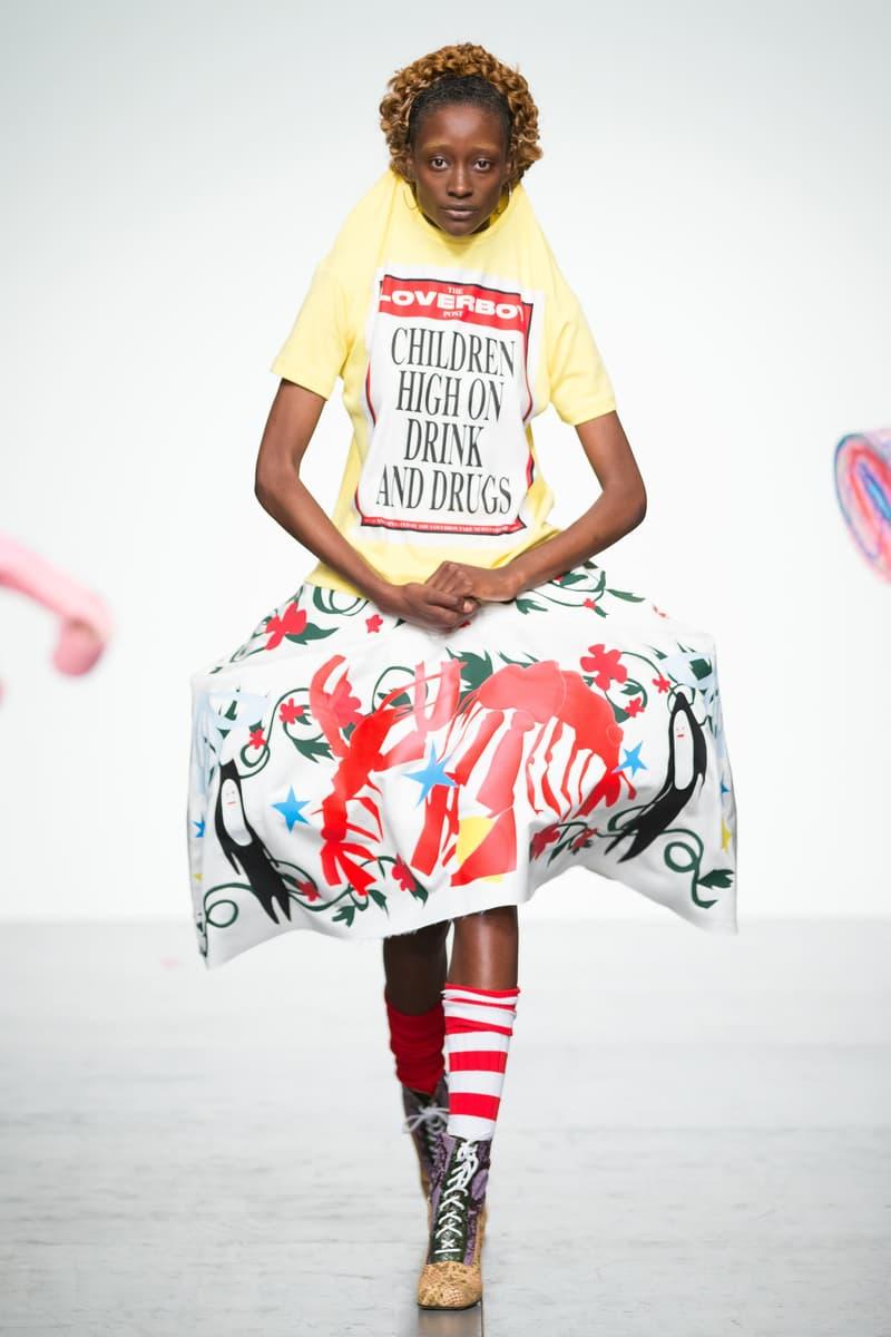 Charles Jeffrey Loverboy 2018 Spring Summer Collection London Fashion Week Men's
