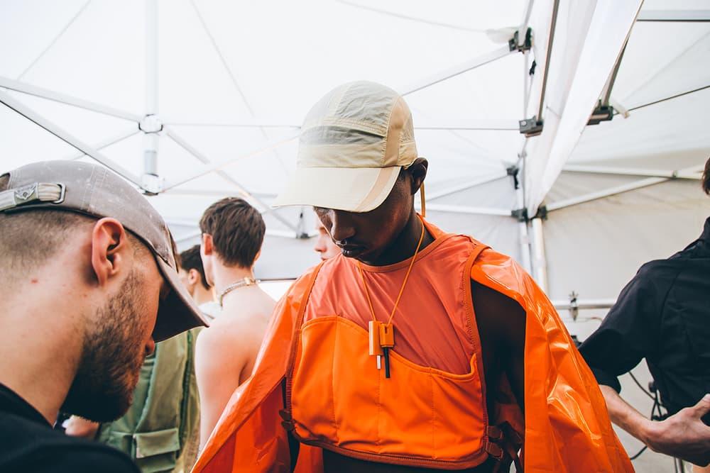 Backstage Cottweiler London Fashion Week Men's 2018 Spring/Summer