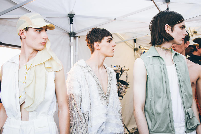 Backstage Cottweiler London Fashion Week Men's 2018 Spring/Summer