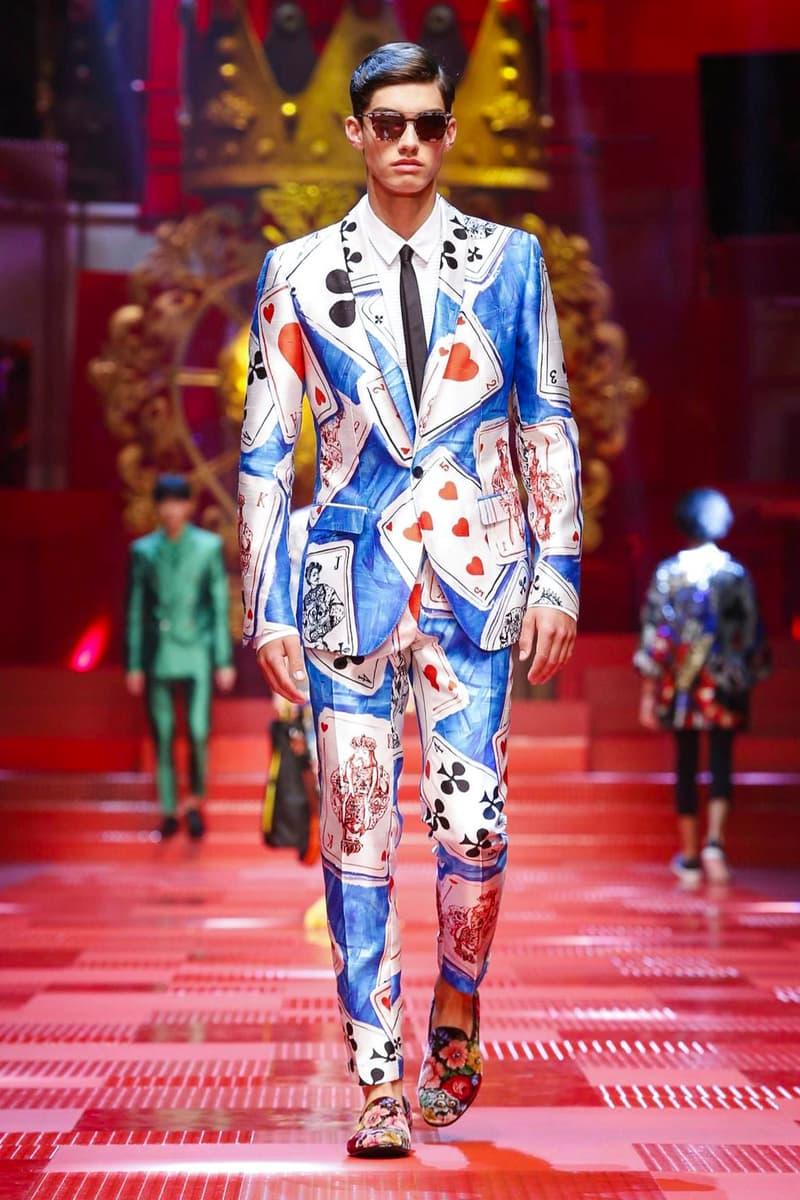 Dolce & Gabbana Spring Summer 2018 Collection Milan Fashion Week Men's