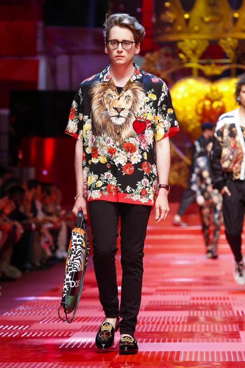 de451df96165 Dolce   Gabbana Spring Summer 2018 Collection Milan Fashion Week Men s
