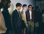 London Fashion Week Men's: Backstage at E. Tautz 2018 Spring/Summer