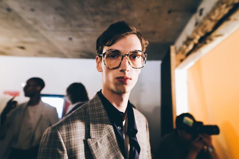 E. Tautz London Fashion Week Men's Backstage 2018 Spring Summer