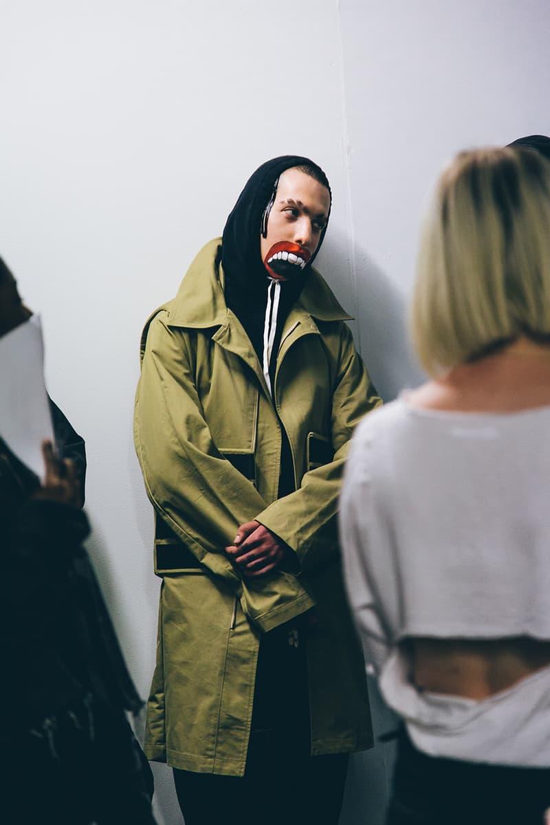 Liam Hodges 2018 Spring/Summer Show Backstage Images