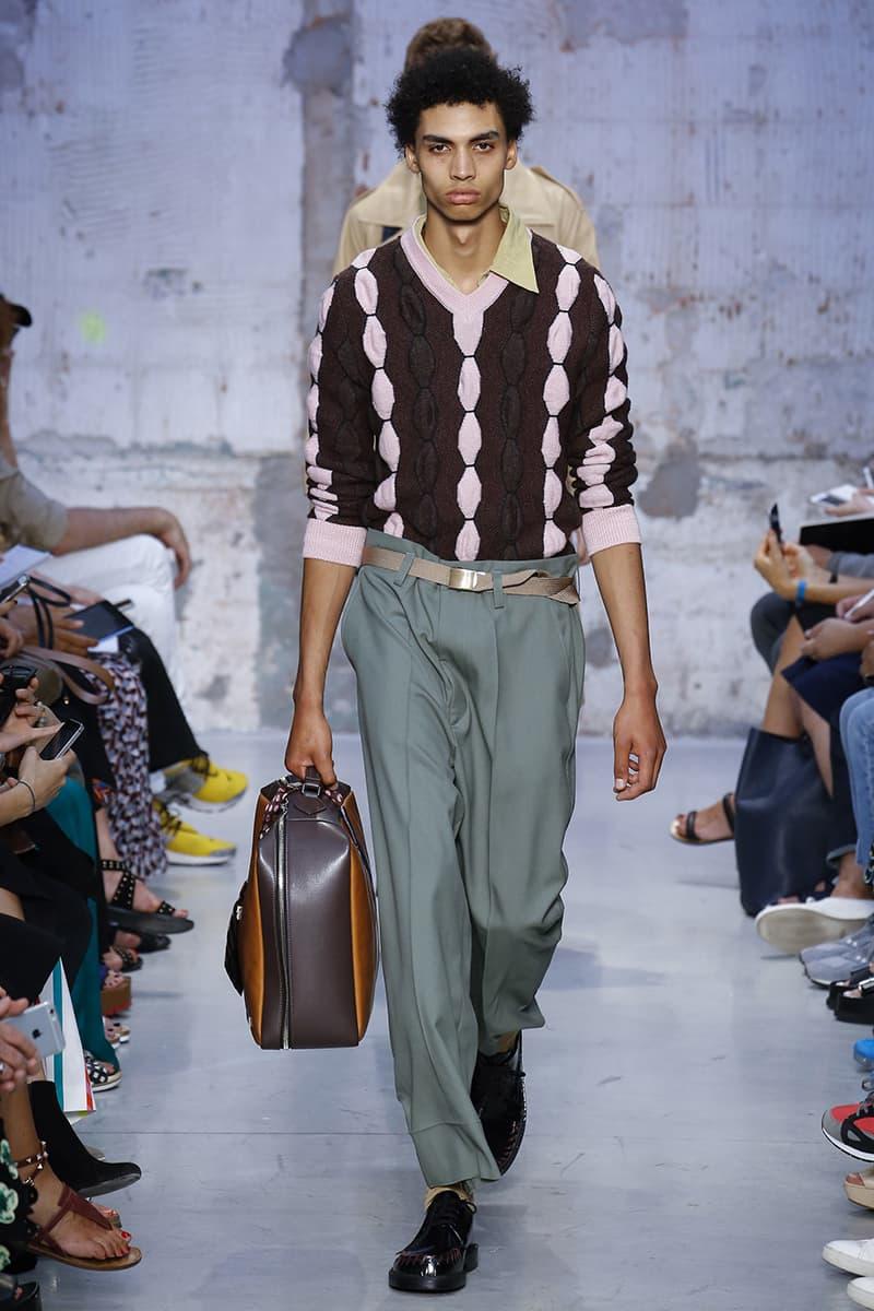 Marni Spring/Summer 2018 Collection Milan Fashion Week Men's