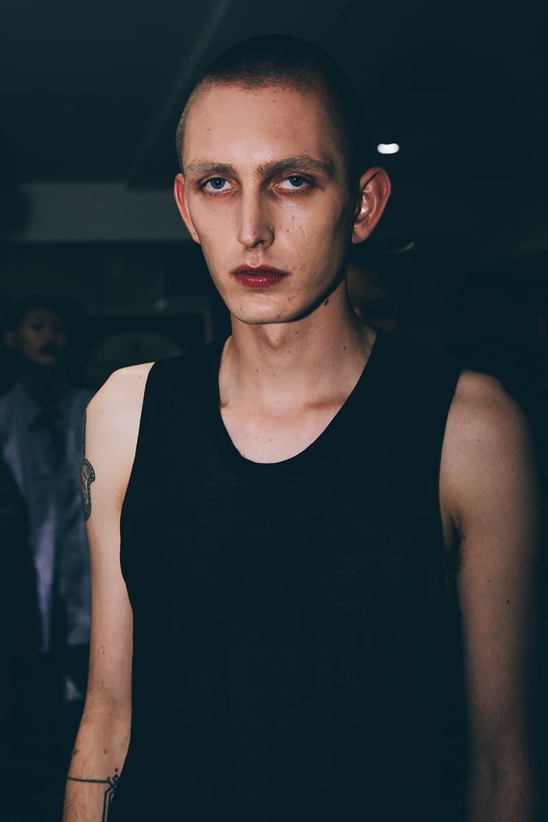 Matthew Miller 2018 Spring Summer Collection London Fashion Week Men's Backstage
