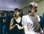 London Fashion Week Men's: Backstage at Matthew Miller 2018 Spring Summer Collection