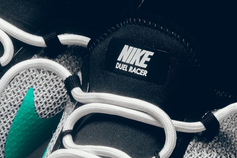Nike Duel Racer white menta black vintage 1988 duelist