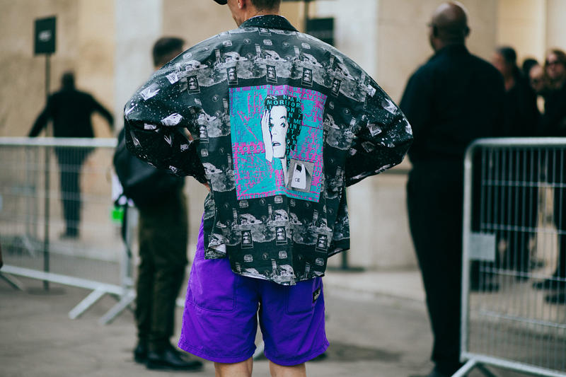 Russell Westbrook Paris Fashion Week Day 2