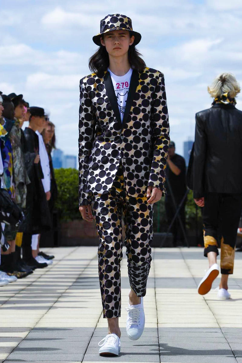 Rynshu 2018 Spring/Summer Collection Paris Fashion Show Men's